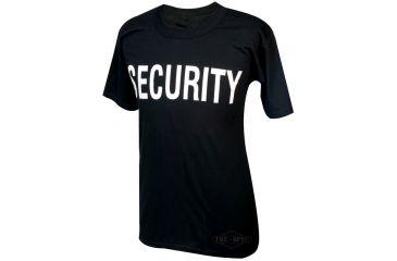 Tru-Spec T-Shirt, Black Security, S 4306003