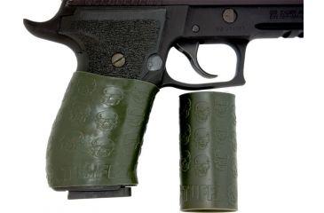 Tuff 1 Death Gun Grip, OD Green, Universal 302
