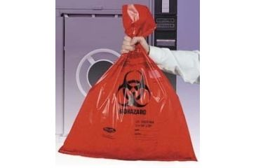 Tufpak Autoclavable Biohazard Bags, Double Thick 14220-086