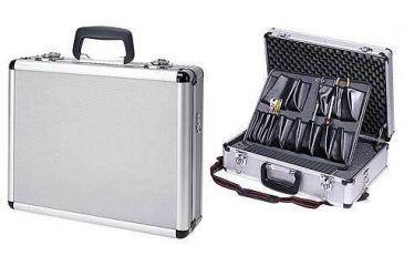 T-Z Case 4-8 Pistol Promo Case Alumitech 18 x 13 x 6 in, Silver TZ0301SD