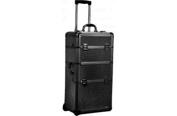 TZ Case AB308T Professional Make Up Case - Black Dot AB-308T-BD