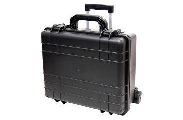 TZ Case WCB18 7 Bottle Wheeled Wine Transport Case - Black WCB-018B