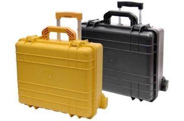 T.Z. Case Cape Buffalo Molded Waterproof Utility Case with Wheels 18.5x16x9