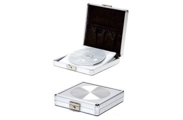 TZ Case CD212 Small Aluminum CD/DVD Case
