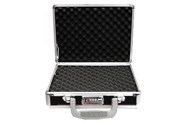 TZ Case Pro-Tech Case Alumitech Gun Case 11.5x9x3.25, Black TZ0011BS