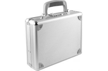 TZ Case Single Pistol Case, Silver TZ0011SS