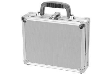 TZ Case Value-Tech ABS Panel Single Pistol Case, 11.5x9x3.25, Silver VT0011SD