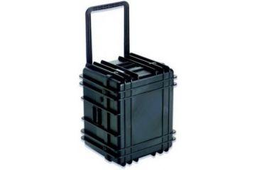 UK 1622 Transit Case/Wheels/Empty/Black