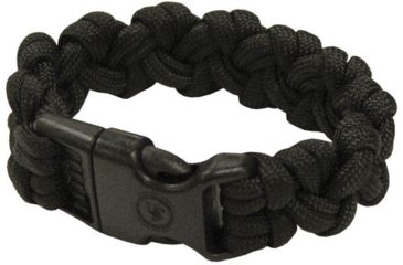 Ultimate Survival Paracord Bracelet, Para 550, Black UST-295-BK