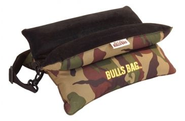 Uncle Bud's CSS Bench Rest with Carrying Strap, Camo Poly/Suede, 15 in. Strap 172425
