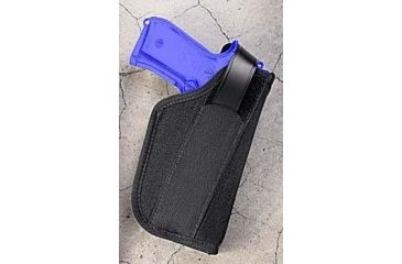 Uncle Mike's Left Hip Holster With Thumb Break 3-4'' Barrel Med Auto 71012