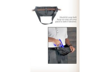 Uncle Mike's GunRunner Fanny Pack Holsters