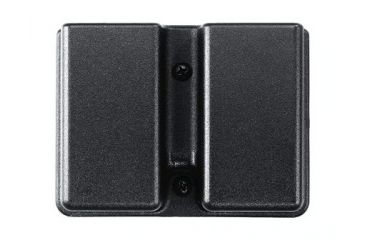 Uncle Mike's Kydex Single Stack Double Magazine Case - Paddle 5137-2