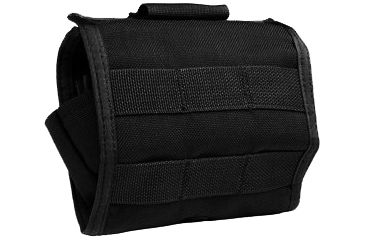 Uncle Mike's Law Enforcement Collapsible Baton Pouch - Black 7702500