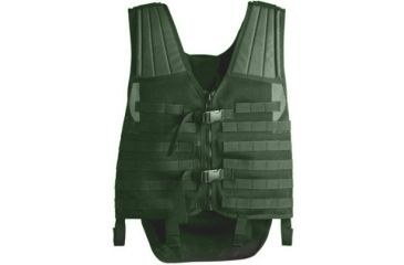 Uncle Mike's Law Enforcement Tactical Modular Entry Vest - OD Green 7702221