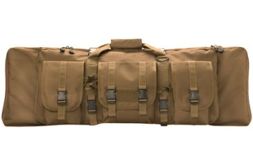 Uncle Mike's Rifle Assault Bag, Coyote, Hang Tag, 36in 64008