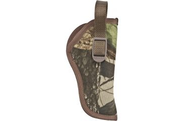Uncle Mike's SideKick Hip Holster, Advantage Camo, Right Hand - 3-4in bbl Double Action Revolvers - 80026