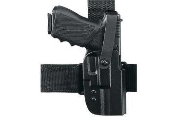 """Uncle Mike's Tactical Holster w/Thumb Break For Springfield XD/4"""" Barrel 57261"""
