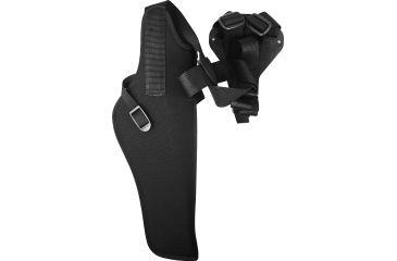 Uncle Mike's Vertical Shoulder Holster, Right Hand, Black 85041
