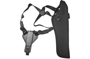 Uncle Mike's Vertical Shoulder Holster, RH Blk - Scoped 14-16in BBL Thompson Center Super Contenders & Similar - 85131