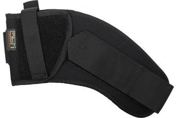 Uncle Mikes Black Ankle Holster, Left 88202