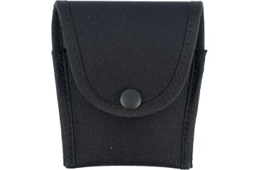 Uncle Mike's Compact Cuff Case - Matte Black, Snap Button Closure 88351