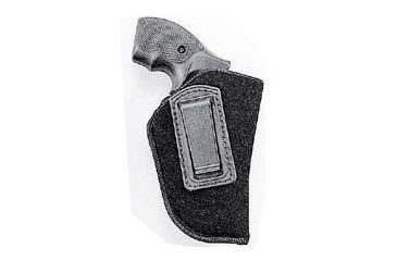Uncle Mike's Inside Pant Holster, SM/Medium Dbl Action Revolver, Right Hand 7600-1