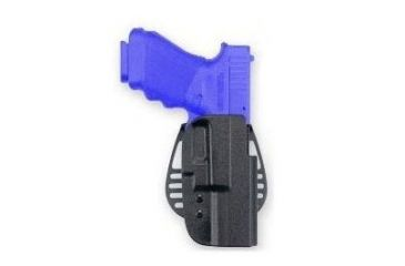 Uncle Mike's Kydex Black Paddle Holster, Ruger P85, P89, P90, P91, Right Hand 5415-1