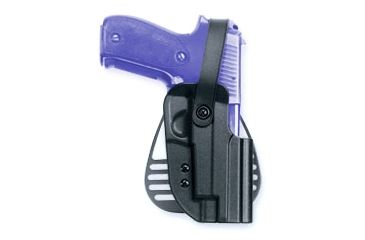Uncle Mike's Kydex Thumb Break Paddle Holster Glock 20, 21 5625