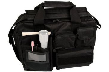 Uncle Mike's Tactical Briefcase with Hang Tag, Large, Black
