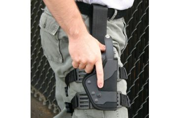 Uncle Mike S Law Enforcement Black Kydex Tactical Holster Platform