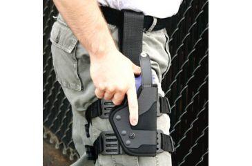 Uncle Mike's Law Enforcement PRO-3 Tactical Duty Holster