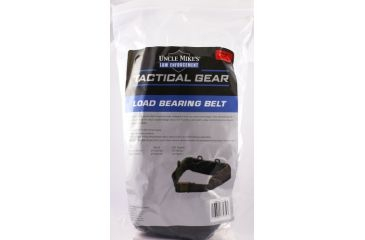 Uncle Mikes Law Enforcement Tactical Load-Bearing Belt - Small / Medium Size Black 7702760