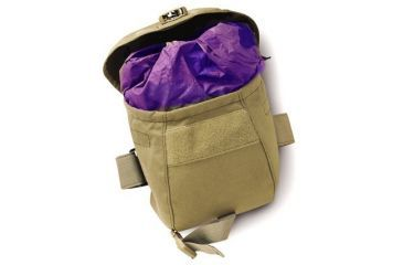 Uncle Mike's Law Enforcement OD Green Gas-Mask Pouch