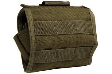 Uncle Mike's Law Enforcement OD Green Shell Carrier Pouch