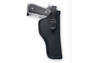 Uncle Mike's Sidekick Hip Holster, Right Hand, Black - 3.25-3.75in bbl Med/Large Autos - 8116-1