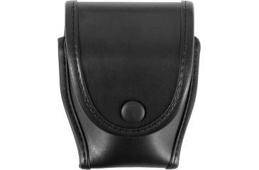 Uncle Mike's Single Duty Cuff Case, Snap Button, Leather 74781