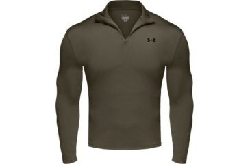 Under Armour Men's ColdGear 1/4 Zip - Sage Color 1004557-385