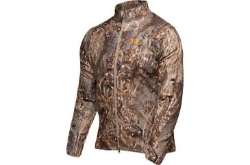 Under Armour Men's ColdGear Camo Cumberland WindFleece Jacket - Duckblind Color 1006106-399