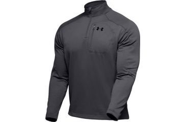 Under Armour Men's ColdGear Hundo Fleece 1/4 Zip - Graphite Color 1006260-040