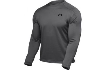 Under Armour Men's ColdGear Hundo Fleece Crew - Graphite Color 1006261-040