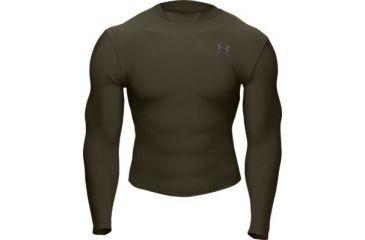 Under Armour Men's ColdGear Longsleeve Crew - Sage Color 1000511-385