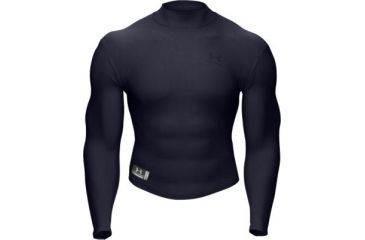 Men's Clothing Activewear Tops Practical Under Armour Cold Gear Fitted Navy Long Sleeve Shirt Medium