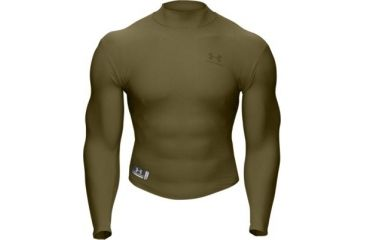 343a6244f1 UnderArmour Men's ColdGear Tactical Mock - Marine Olive Drab Color ...