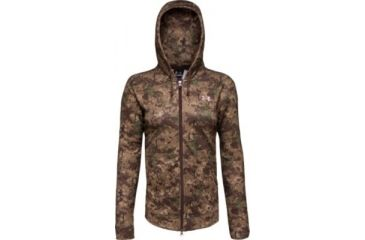 Under Armour Women's ColdGear Camo Hurlock Full Zip Hoody - Digital Color 1004710-966