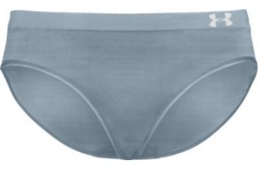 UnderArmour Women's HeatGear Active Hipster - Medium Grey Heather Color 1001956-080