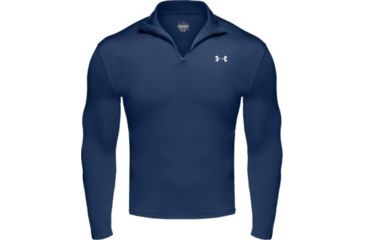 Under Armour Men's ColdGear 1/4 Zip - Sapphire Color 1004557-414