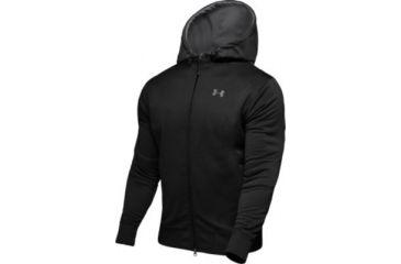 Under Armour Men's ColdGear Armour Fleece Full Zip Hoody - Black Color 1006264-001