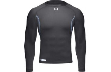 UnderArmour Men's ColdGear Base 1.0 Crew - Black Color 1004600-001