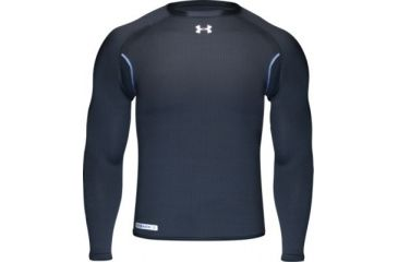6d92e8682 UnderArmour Men's ColdGear Base 3.0 Crew - Black Color 1004604-001 ...